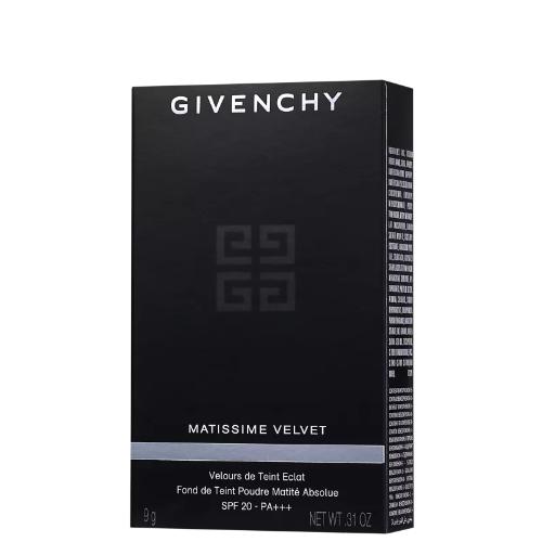 Givenchy Matissime Velvet Compact N06 Mat Copper - Base Compacta 9g
